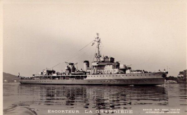 """Marine""  -  Escorteur  La Grandière"