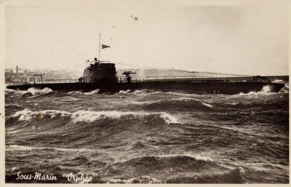 """Marine""  -  Sous-marin Orphée"
