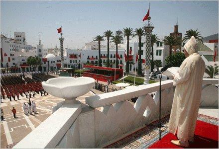 مرحبا بكم فى : المغرب    la reyo mohamed  6   para  A TeTouaN