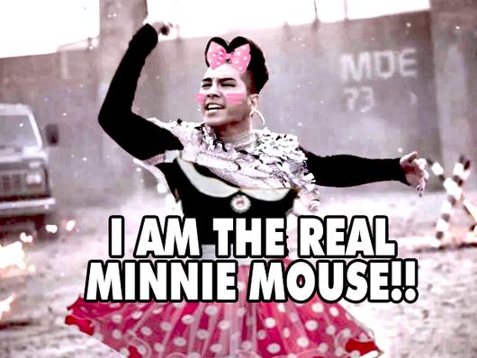 """Taeyang""""la nouvelle Minnie Mouse"""" ?"""
