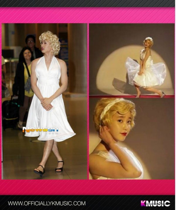 Marilyn Monroe version Eunhyunk