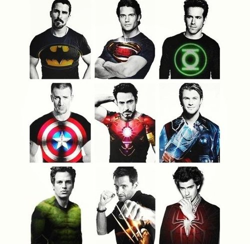 TF1 et les Studios Marvel.