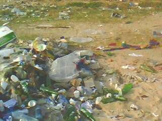 négligeance de nos plages au congo brazzaville