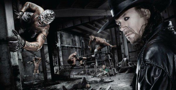R mysterio vs undertaker