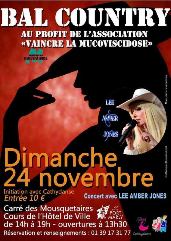 LEE AMBER JONES concert caritatif  le 24/11/13 à PORT-MARLY (78)