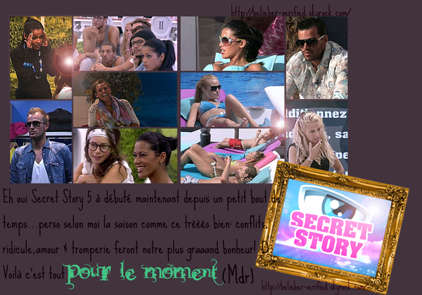 Secret Story + Votez pour le blog;D