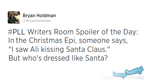 NEWS 5X13: ALISON EMBRASSE LE PERE NOEL :)