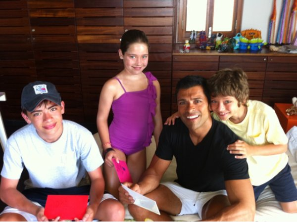 Michael, Lola and Joaquin - Celebrity Kids