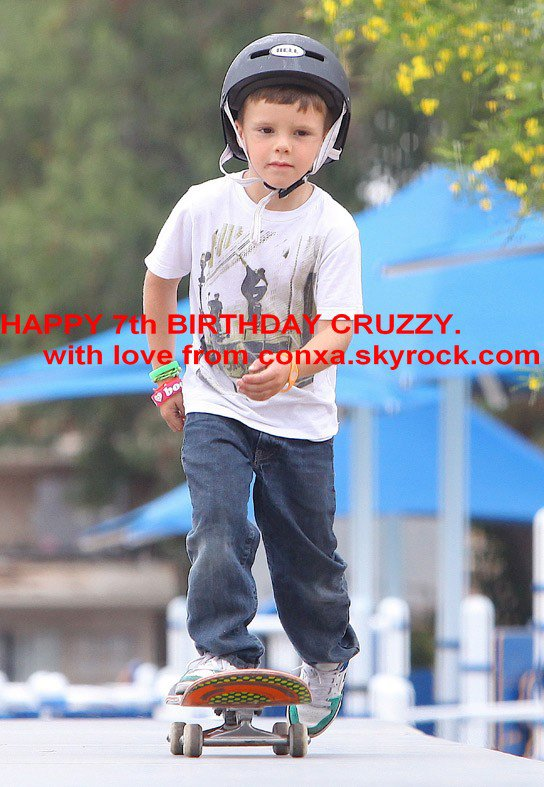 HAPPY 7th BIRTHDAY CRUZ DAVID BECKHAM