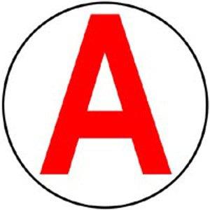 """le """"A"""" est a moi"""