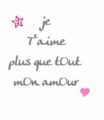 Je Taime Pluse Tout Au Monde Mon Amour Wispopo