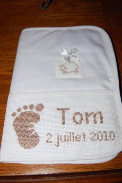 Protège carnet de santé de Tom