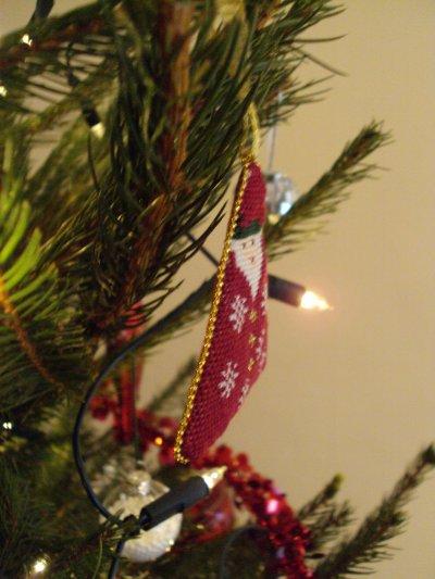 Pendouille de Noël pour un échange chez les Sacrées Sorcières