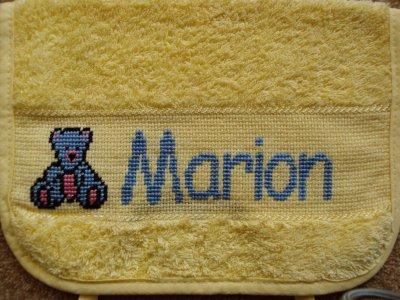 Bavoir pour Marion
