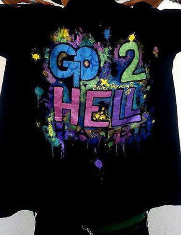 # 030 : Shirt : Go to Hell.