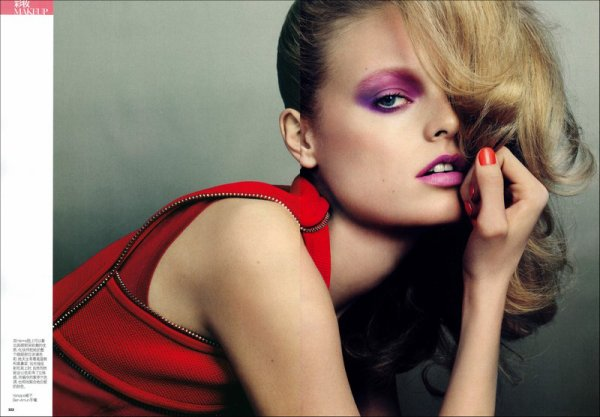 Editorial Asia Exposure | Hanne Gaby Odiele & Ming Xi | Vogue China (Beauty Supplement) | April 2011 | Shot by David Slijper