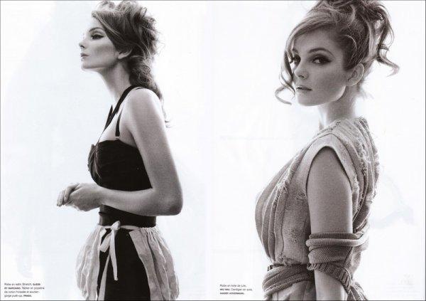 Editorial My Beautiful Laundrette | Eniko Mihalik | Numéro #100 | February 2009 | Shot by Greg Kadel
