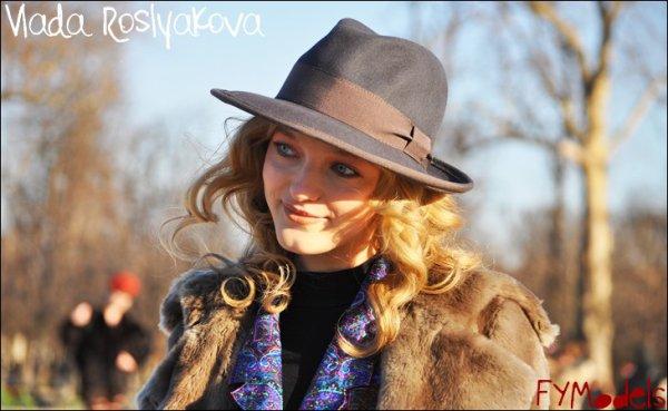 Photo of the Day Vlada Roslyakova after Kenzo F/W10.11, Paris Fashion Week