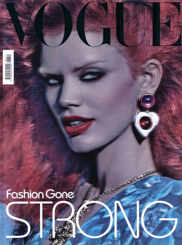 Cover Rianne Ten Haken for Vogue Italia | November 2009 | Shot by Steven Meisel