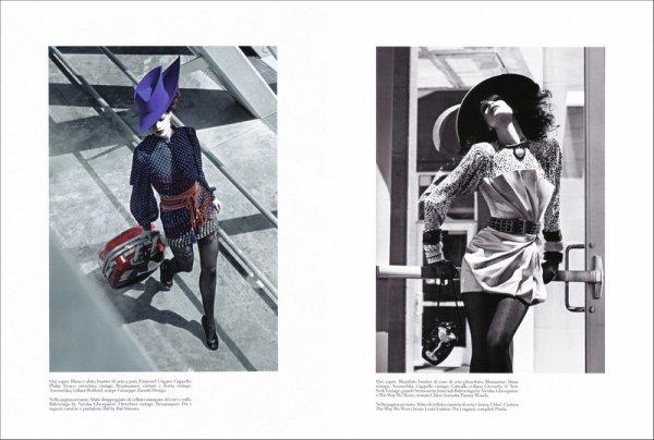 Cover Story Air Supply | Rianne Ten Haken | Vogue Italia | November 2009 | Shot by Steven Meisel
