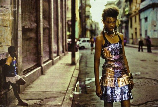 Editorial Havana Rendez-vous | Sara Blomqvist | Numéro Tokyo | May 2009 | Shot by Jean-François Campos