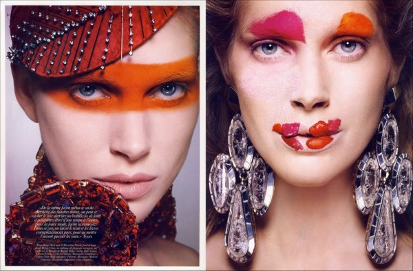 Editorial Particules Élémentaires | Iselin Steiro | Vogue Paris | June/July 2010 | Shot by Tyen