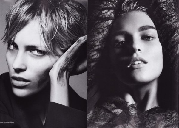 Editorial Modèle | Anja Rubik | Numéro #88 | November 2007 | Shot by Liz Collins