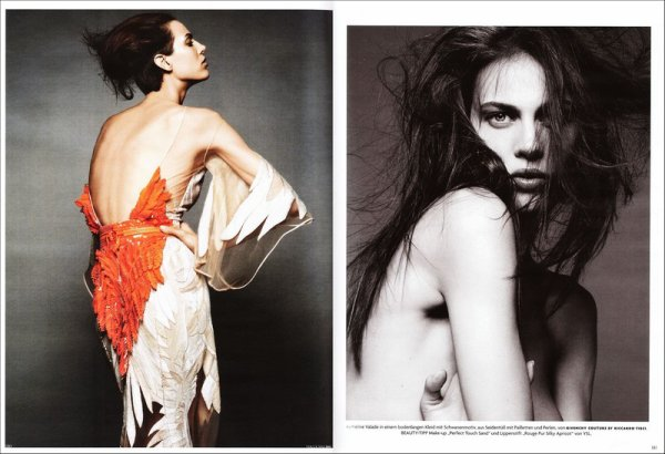 Editorial Über-Sinnlich | Vogue Deutsch | May 2011 | Shot by Greg Kadel