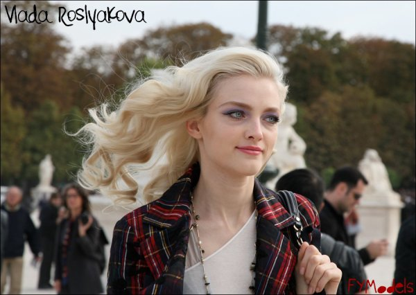 Photo of the Day Vlada Roslyakova after Christian Dior SS10 | Paris Fashion Week
