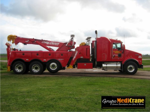 KENWORTH T800 CON EQUIPO ROTATOR CHALLENGER 1140 RXP