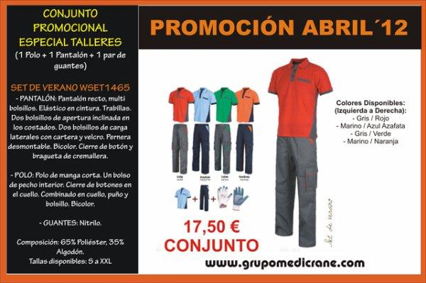 PROMOCIÓN ABRIL ESPECIAL TALLERES !!