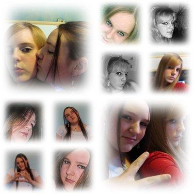 ma soeur et moi un montage pour toi :)