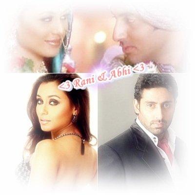 Rani Mukherjee & Abhishek Bachchan : The Jodi <3