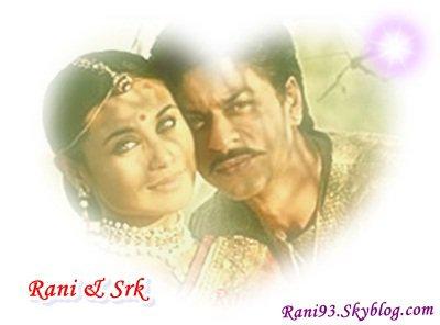 Rani Mukherjee & Shahrukh Khan <3