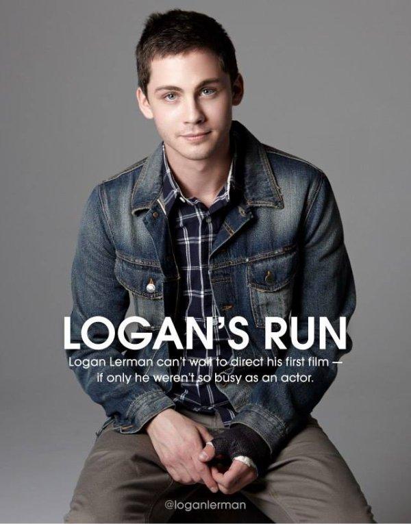 """Logan dans le """"Vanity Fair"""""""