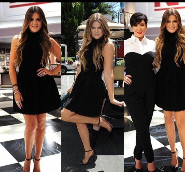 """EMISSION   17.7.13 Khloé chez le """" Kris Jenner Show"""