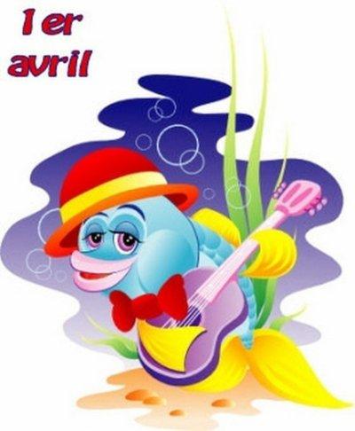 nous sommes le ...1er avril.....