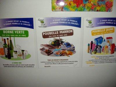 l'écologie est à l'ordre du jour en Martinique