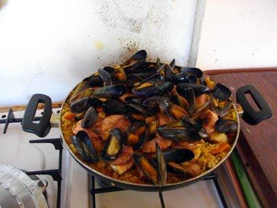 hier paella pour 5