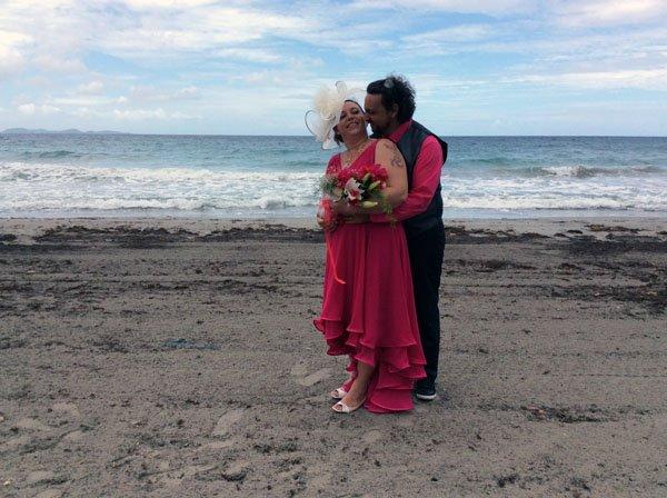 ils se sont mariés  le 5mai 2017 ...à la mairiede ducos