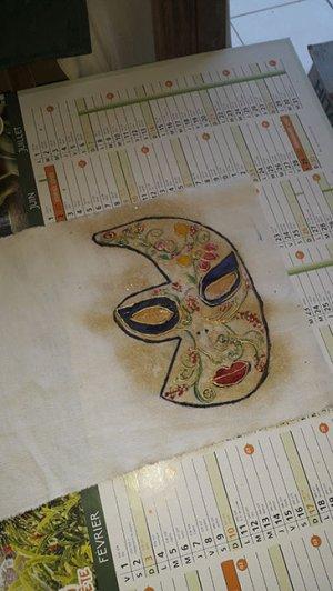 nouveau masque pour mon infirmerie