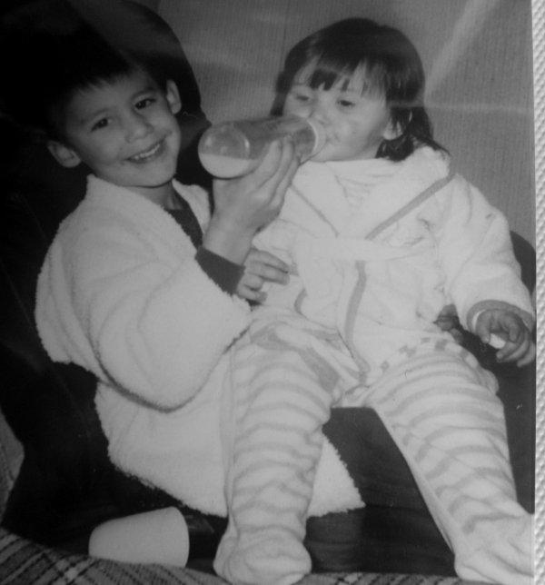 Frero & Moi ♥ 17 ans qu'on se connait et j'en regrette pas une seconde ♥