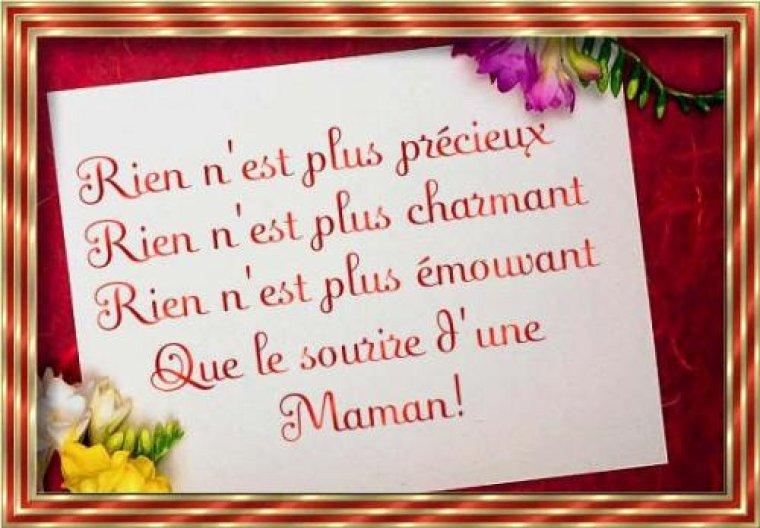 Joyeux Anniversaire Maman Cherie