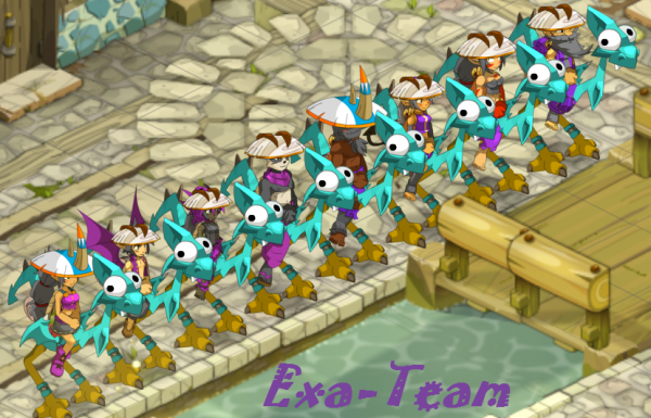 Exa-team au level 60