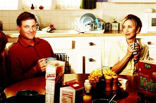* Le paradis c'est ça : être assis avec les gens qu'on aime avec un bon cheeseburger. *