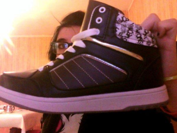nouvelle chaussures :p