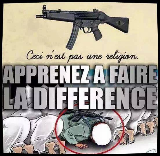 apprenez a faire la difference ........