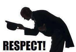 respect..................................
