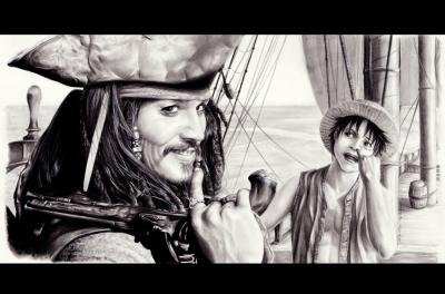 pirates entre pirate