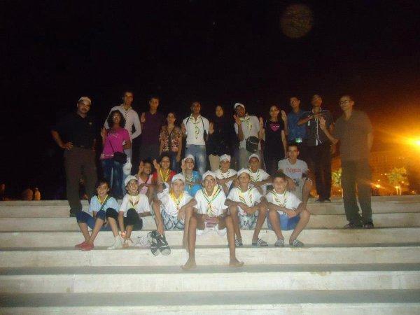 Scouts Populaire à Tanger